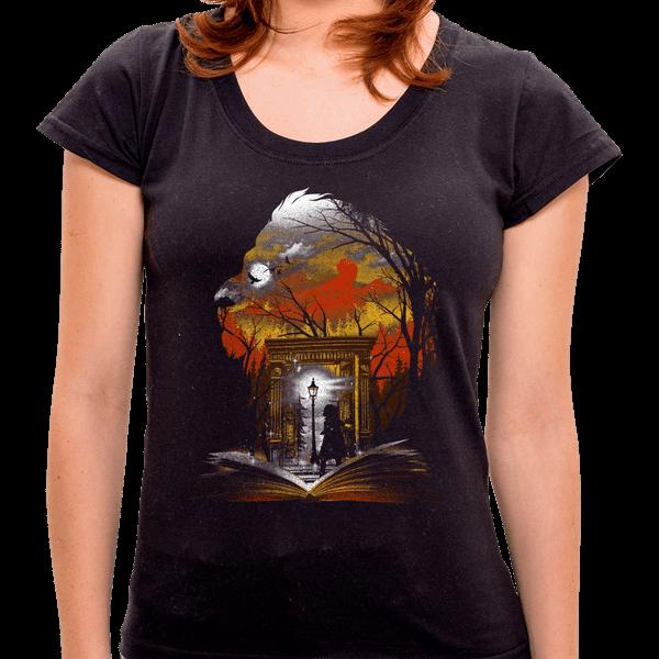 PR - Camiseta Book Of Lion - Feminina - P