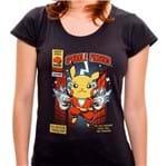 PR - Camiseta Captain Sparkle - Feminina - P