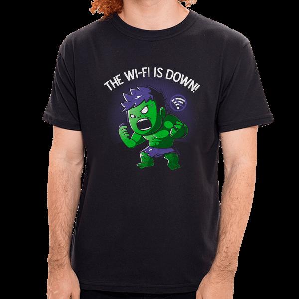 PR - Camiseta Hulk Wi-fi - Masculina - P