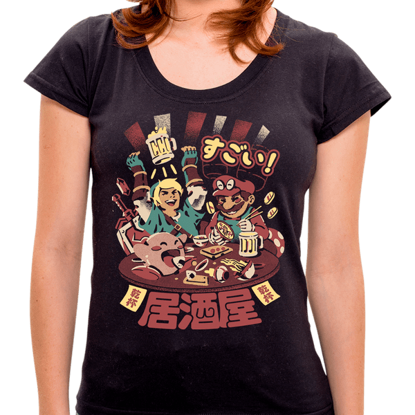 PR - Camiseta Izakaya Heroes - Feminina - P