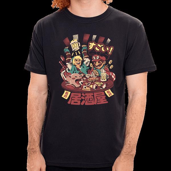 PR - Camiseta Izakaya Heroes - Masculina - P