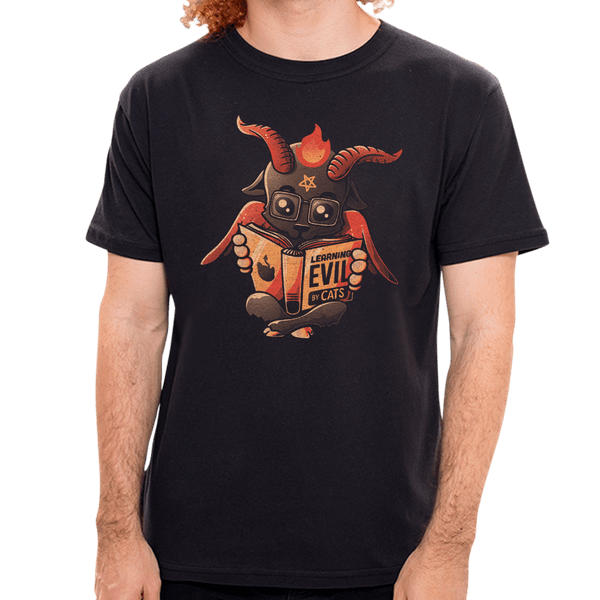 PR - Camiseta Learning Evil - Masculina - P