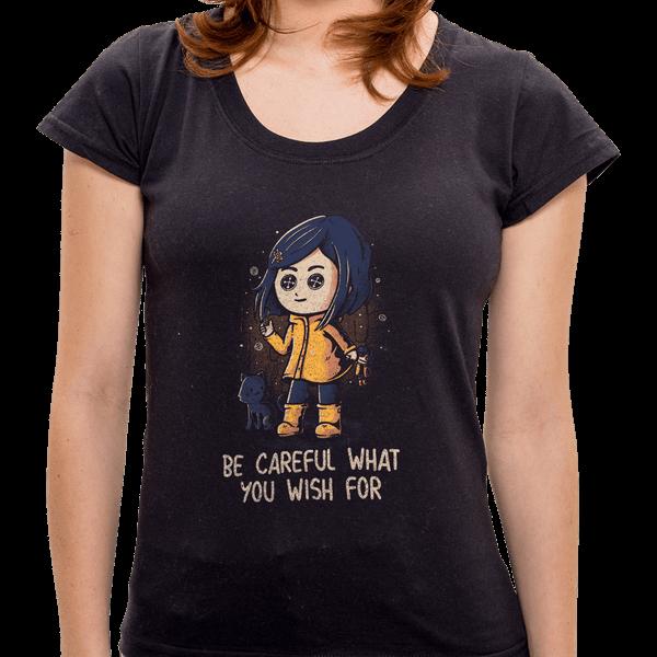 PR - Camiseta What You Wish For - Feminina - P