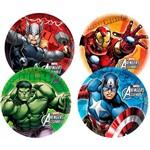 Prato 18cm Avengers Animated com 8 Unidades - Regina Festas