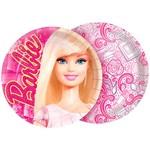 Prato 18cm Barbie Core com 8 Unidades - Regina Festas