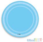 Prato Azul Claro - 08 Unidades