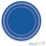 Prato Azul Escuro - 08 Unidades