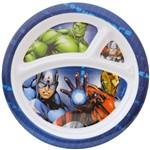 Prato com Divisórias Infantil Avengers Vingadores Marvel