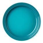 Prato de Cerâmica Le Creuset Azul Caribe 23 Cm - 15969