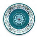 Prato de Jantar em Melamina Tarhong - Ø 27 Cm - Linha Marrocos