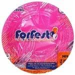 Prato Descartável 15cm Pink Forfest 10 Unidades 1021604