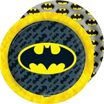 Prato Descartável Batman Geek