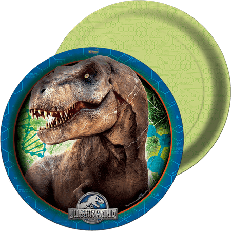 Prato Descartável Jurassic World