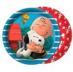 Prato Descartável Snoopy