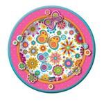 Prato Festcolor Floral - 8 Unidades
