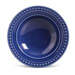 Prato Fundo de Cerâmica 22Cm Azul - Porto Brasil