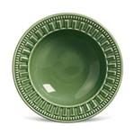 Prato Fundo de Cerâmica Parthenon 22Cm Verde - Porto Brasil