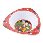 Prato Fundo Triangular para Microondas Mickey Multikids Baby