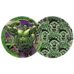 Prato Hulk Animação C/8 - Regina