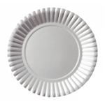 Prato Metalizado Prata - 10 Unidades