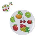 Prato para Bolo Linha Fruit Melamina 32,5