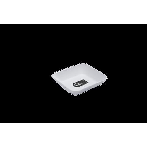 Prato Petisqueira Pequeno - Mesa PP 10,2 X 9,2 X 2,4 Cm Branco Coza