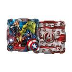 Prato Quadrado Avengers 8un