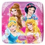 Prato Quadrado Princesas Amigas