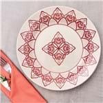Prato Raso 24cm Donna Oxford Vermelho Vermelho
