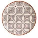 Prato Raso Porto Brasil Cerâmica Coup Geometria 27CM - 32756