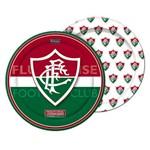 Prato Redondo 18cm Fluminense C/ 08 Unidades