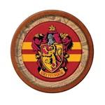 Prato Redondo 18cm Harry Potter C/ 08 Unidades