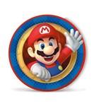 Prato Redondo Sortido Super Mario C/8