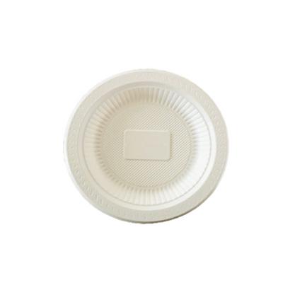 Prato Refeição Biodegradável C/50un Eecoo