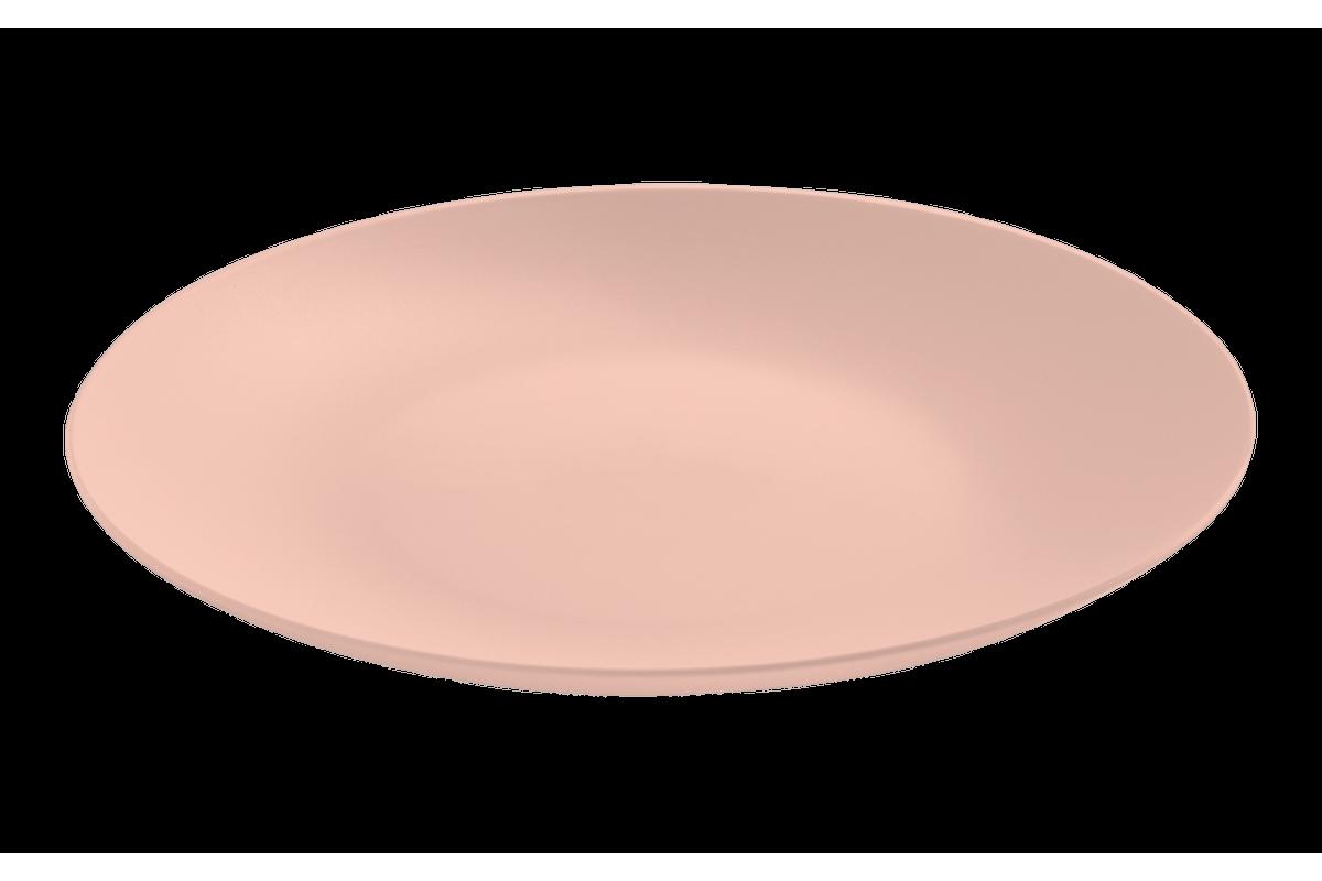 Prato Refeição Cozy 25cm Rosa Blush Coza