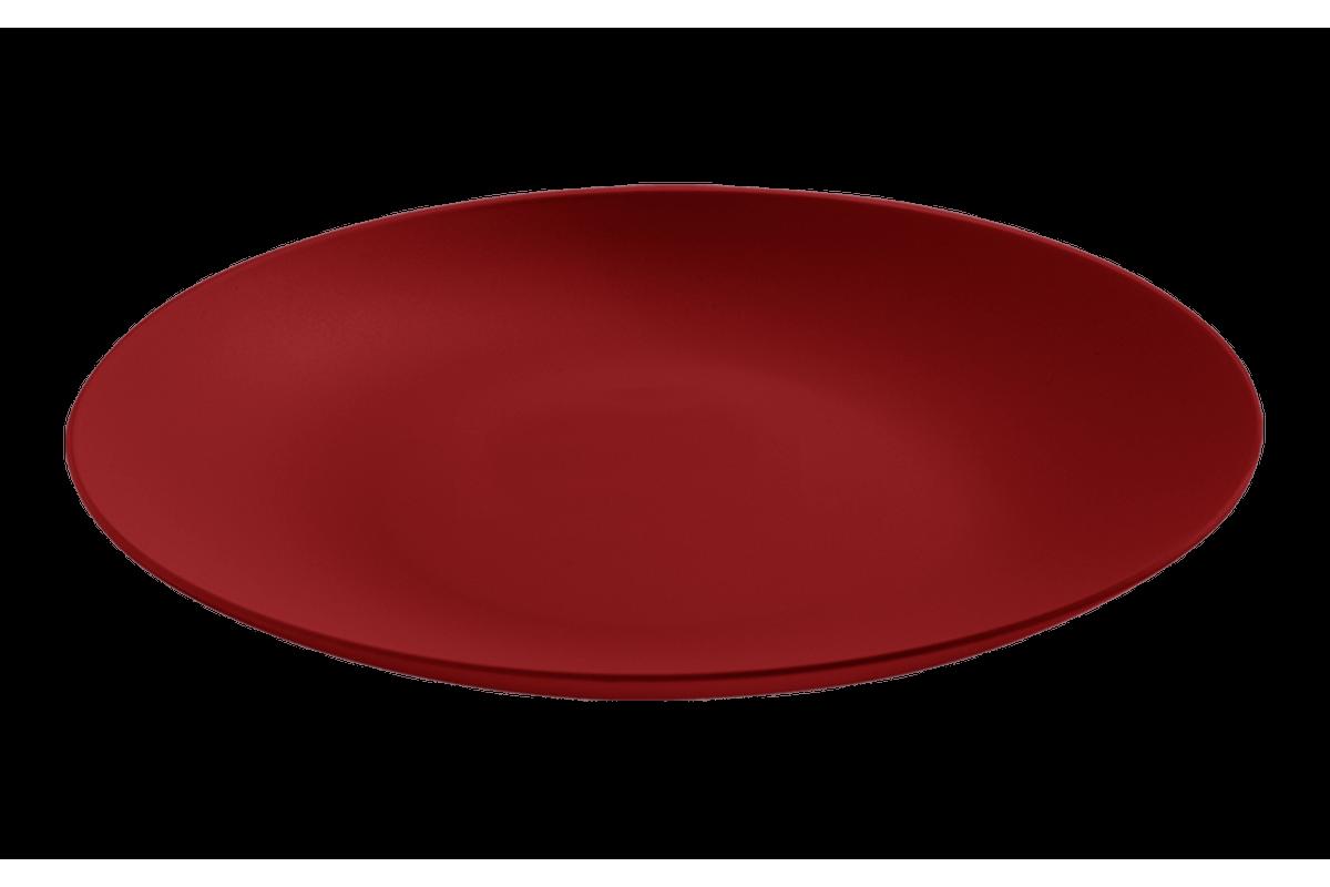 Prato Sobremesa Cozy 18cm Vermelho Bold Coza