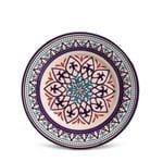 Prato Sobremesa Porto Brasil Monaco Tanger Cerâmica 20CM - 31377