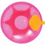 Prato Térmico com Ventosa Rosa Menina - Buba 6174