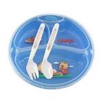Prato Térmico Infantil Chuca Baby 3 Divisões com Ventosa