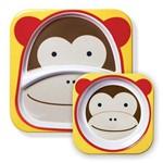 Pratos de Bichos Divertidos Macaco - Skip Hop