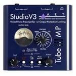 Pre Amplificador de Microfone Art Valvulado Tube Mp Studio V3 - Unico