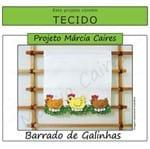 Projeto Márcia Caires + Tecido - Barrado de Galinhas