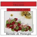 Projeto Márcia Caires + Tecido - Barrado de Morangos
