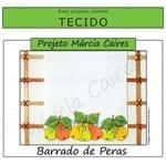 Projeto Márcia Caires + Tecido - Barrado de Peras