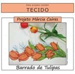 Projeto Márcia Caires + Tecido - Barrado de Tulipas
