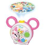 Projetor Musical Minnie Branco e Rosa - Disney