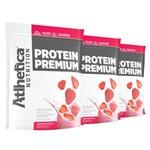 Promoção Atacado 3x Whey Wey Way Protein Premium 850g Refil - Atlhtetica Nutrition