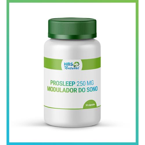 Prosleep 250 Mg - Modulador do Sono Vegan 30cápsulas