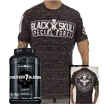 Protein 7 Blend 837gr + Camiseta Black Skull Tshirt Special Force!!!