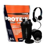 Protein Complex Refil 1,8kg New Millen + Coqueteleira e Fone